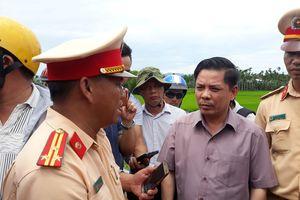 Bộ trưởng Nguyễn Văn Thể: Vụ tai nạn ở Quảng Nam do chủ quan