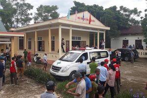 Thi thể 13 nạn nhân vụ tai nạn xe rước dâu được đưa về quê Quảng Trị