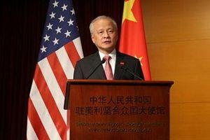 Đại sứ Trung Quốc: Không ai có quyền cản trở mối quan hệ Trung-Mỹ