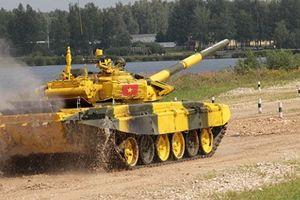 Tăng T-72B3 Việt Nam diệt 1 mục tiêu tại Tank Biathlon 2018