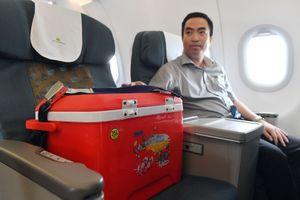 Hàng không Việt Nam cam kết hỗ trợ vận chuyển mô tạng miễn phí trên cả nước