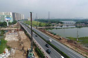 Hà Nội: Đóng cống chui dân sinh cao tốc Pháp Vân - Cầu Giẽ để thi công