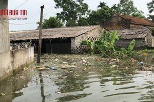 Ngoại thành Hà Nội ngập sâu trong nước, sơ tán người dân ra khỏi vùng lũ