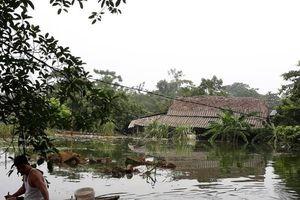 Hà Nội: Chương Mỹ ngập lụt khiến 3 người đuối nước