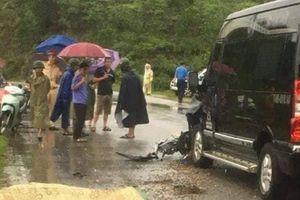 Quảng Ninh: Ôtô khách tông trực diện xe máy khiến 1 người tử vong