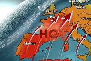 Châu Âu chống chọi với nắng nóng gần 40 độ C