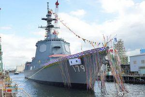 Nhật Bản hạ thủy khu trục hạm vượt trội Type 055 Trung Quốc