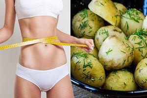 Khoai tây luộc, bí quyết mới giúp bạn giảm cân hiệu quả và an toàn