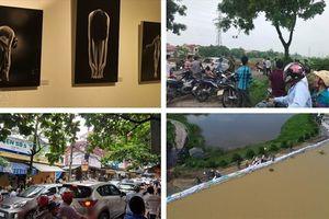 Tin tức Hà Nội 24h: Đê tả sông Bùi bị đe dọa; Đến chữa bệnh phải chờ vì taxi 'quây' kín
