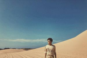 'Màu Của Cát'- bộ ảnh Phan Thiết đầy ấn tượng qua chuyến du lịch của chàng trai An Giang