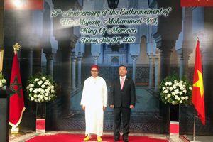 Quan hệ hợp tác Ma-rốc - Việt Nam phát triển sâu rộng