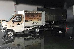 Hỏa hoạn thiêu rụi 8 xe tải, thiệt hại 4,5 tỷ đồng