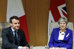 Tổng thống Pháp Emmanuel Macron sắp gặp Thủ tướng Anh Theresa May