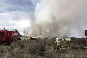 Xác định nguyên nhân ban đầu vụ tai nạn máy bay tại Mexico