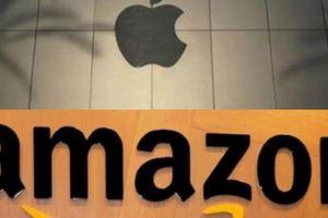 Apple và Amazon đang tiến gần tới mốc công ty nghìn tỷ USD