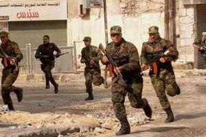 Quân đội Syria đột kích dữ dội, phá hủy 20 thành trì khủng bố