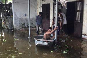 Vỡ đê bối ở Hà Nam: Hàng trăm hộ dân vẫn đang sống trong ngập úng
