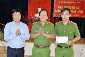 Giám đốc Sở Du lịch TP Đà Nẵng khen thưởng lực lượng khám phá Chuyên án 127 MT