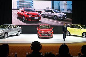 Ra mắt Toyota Vios và Yaris 2018 tại Việt Nam
