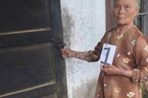 70 tuổi vẫn cạy cửa trộm tài sản của hàng xóm