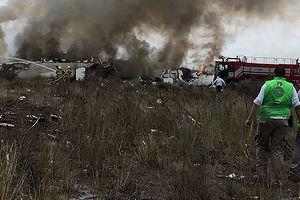 Máy bay chở 101 người rơi ở Mexico, toàn bộ sống sót thần kỳ
