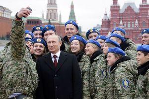 Tổng thống Putin lập tổng cục giáo dục lòng yêu nước của quân đội Nga
