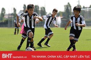 Học viện Juventus tuyển sinh tại Hà Tĩnh ngày 19/8