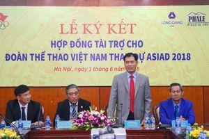 Công bố nhà tài trợ cho Đoàn Thể thao Việt Nam dự Asian Games 2018