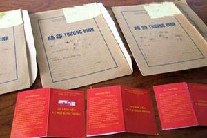 Phát hiện 569 người làm hồ sơ thương binh giả