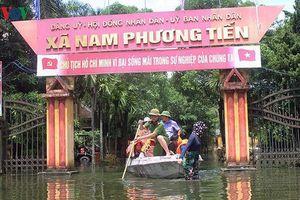 Chủ tịch xã Nam Phương Tiến bị ngập lụt từng đề nghị bỏ rừng phòng hộ