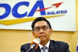 Giám đốc Cơ quan Hàng không dân dụng Malaysia từ chức