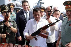 Philippines tuyên bố không từ bỏ vũ khí Nga bất chấp Mỹ đe dọa trừng phạt