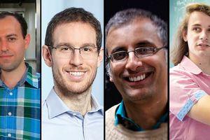 Bốn nhà toán học đoạt huy chương Fields 2018