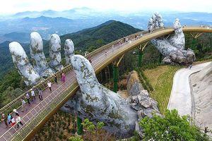 Độ 'hot' của Cầu vàng Đà Nẵng khiến cộng đồng mạng quốc tế kinh ngạc