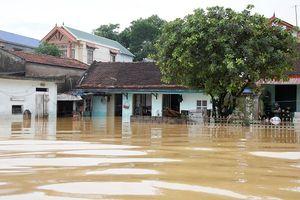Nước sông Bùi rút chậm, mực nước 4 hồ thủy lợi lớn tại TP Hà Nội vẫn vượt ngưỡng