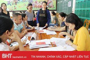 Tăng hơn 600 học sinh: Tuyển sinh đầu cấp TP Hà Tĩnh lại 'nóng'!