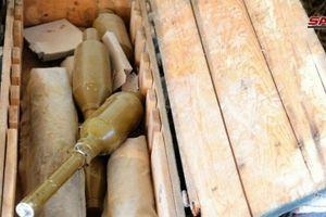 Chùm ảnh: Quân đội Syria tịch thu loạt vũ khí Israel tại pháo đài IS