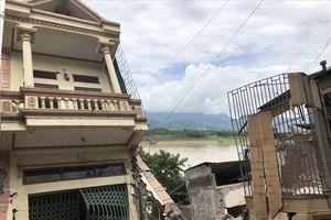Sụt lún nhà xuống sông Đà ở Hòa Bình: Đã tìm ra nguyên nhân