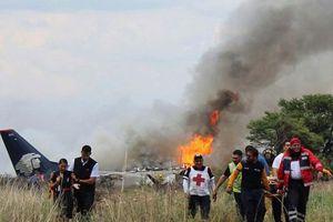 Rơi máy bay Mexico, toàn bộ 103 người sống sót