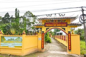 Độc đáo đình, chùa, miếu miền Tây: Tín ngưỡng Lăng Ông Thống chế Điều bát