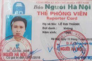 Người xưng phóng viên hành hung cán bộ trình 'thẻ phóng viên' hết hạn
