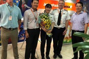 Jetstar Pacific có nữ cơ trưởng Airbus320 người Việt Nam đầu tiên