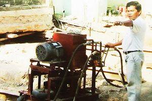 'Thần đèn' nước Việt - Bài 4: Chiếc máy dời nhà tự chế