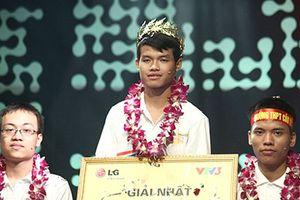 Nguyễn Trọng Nhân vô địch Đường lên đỉnh Olympia năm 2014