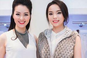 Hoa hậu Kỳ Duyên đua sắc cùng Á hậu Thụy Vân