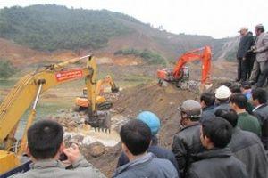Đại dự án thủy lợi Ngàn Trươi - Cẩm Trang chặn dòng đợt 1