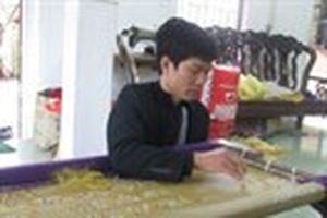 Đông Cứu quyết giữ nghề thêu sau 3 thế kỷ