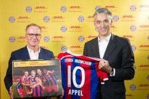 DHL bắt tay CLB Bayern Munich