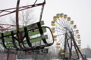 Hình ảnh hoang tàn của công viên giải trí sau 28 năm thảm họa phóng xạ