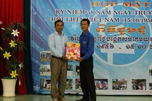 Giao lưu hữu nghị thanh niên Việt Nam - Cam-pu-chia